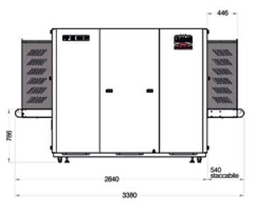 Sicurezza - Raggi X - Bagagli da Stiva - Fep Me 1000 HC DV