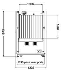 Sicurezza - Raggi X - Bagagli da stiva - Fep Me 1000 HC
