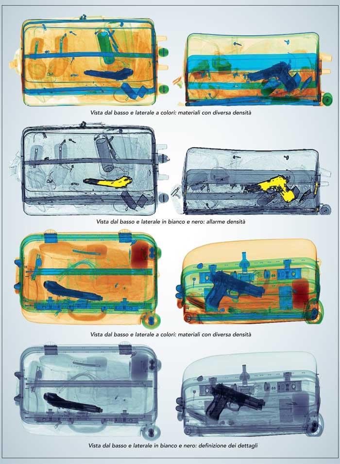 Sicurezza - Raggi X - Fep Me 640 AMX - Console operatore con doppio monitor LCD widescreen
