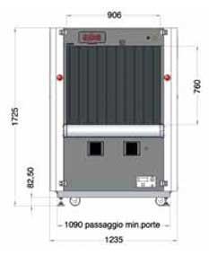 Sicurezza - Raggi X - Bagagli da Stiva - Fep Me 975 HC