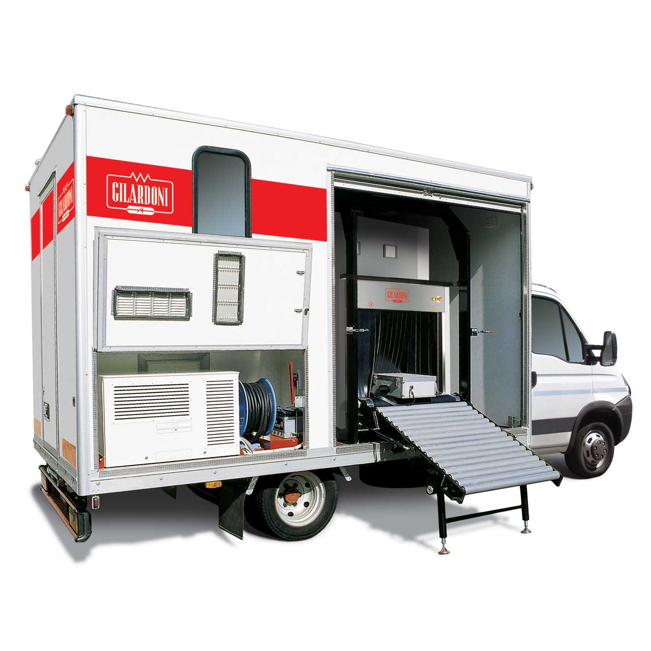 Security - X-Ray Solutions - Mobile Screening - Fep Me 975 Scantruck