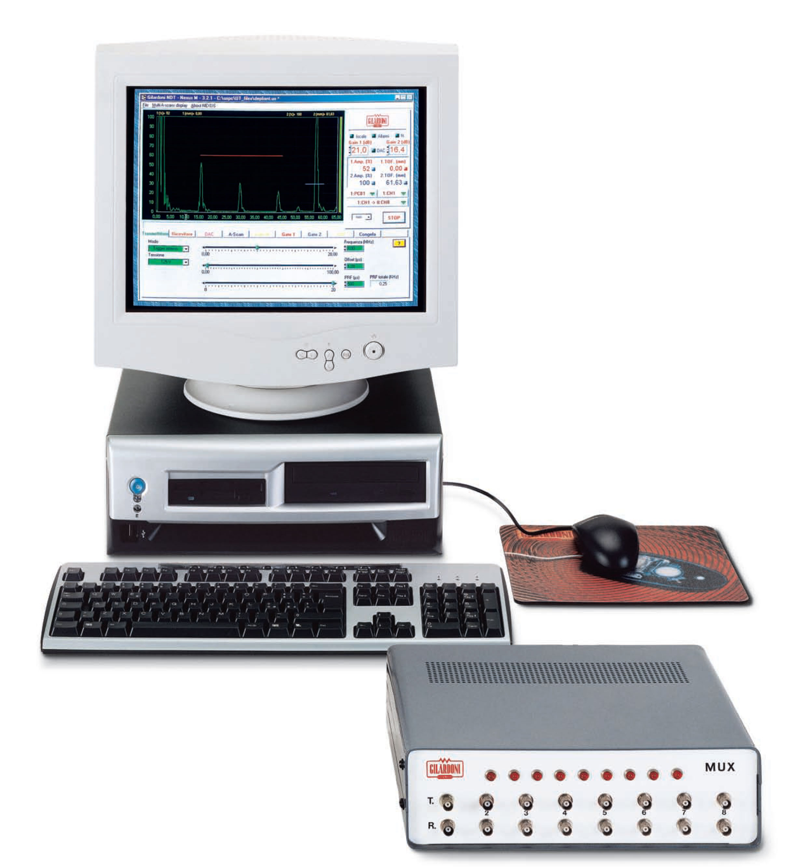 NDT - Ultrasuoni - Sistemi Multicanale - Sistemi Multicanale