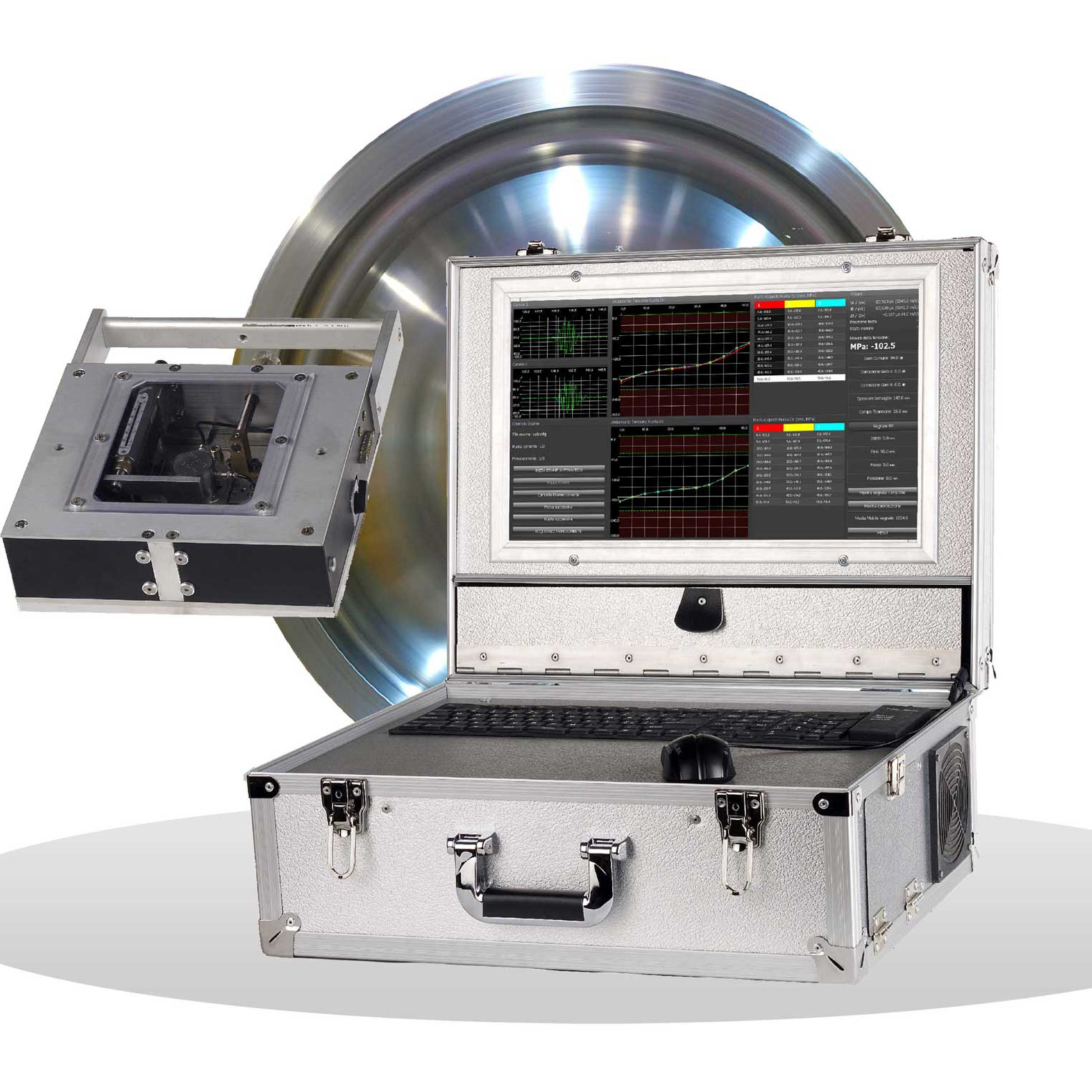 NDT Gilardoni Residual Stress Measurement Unit
