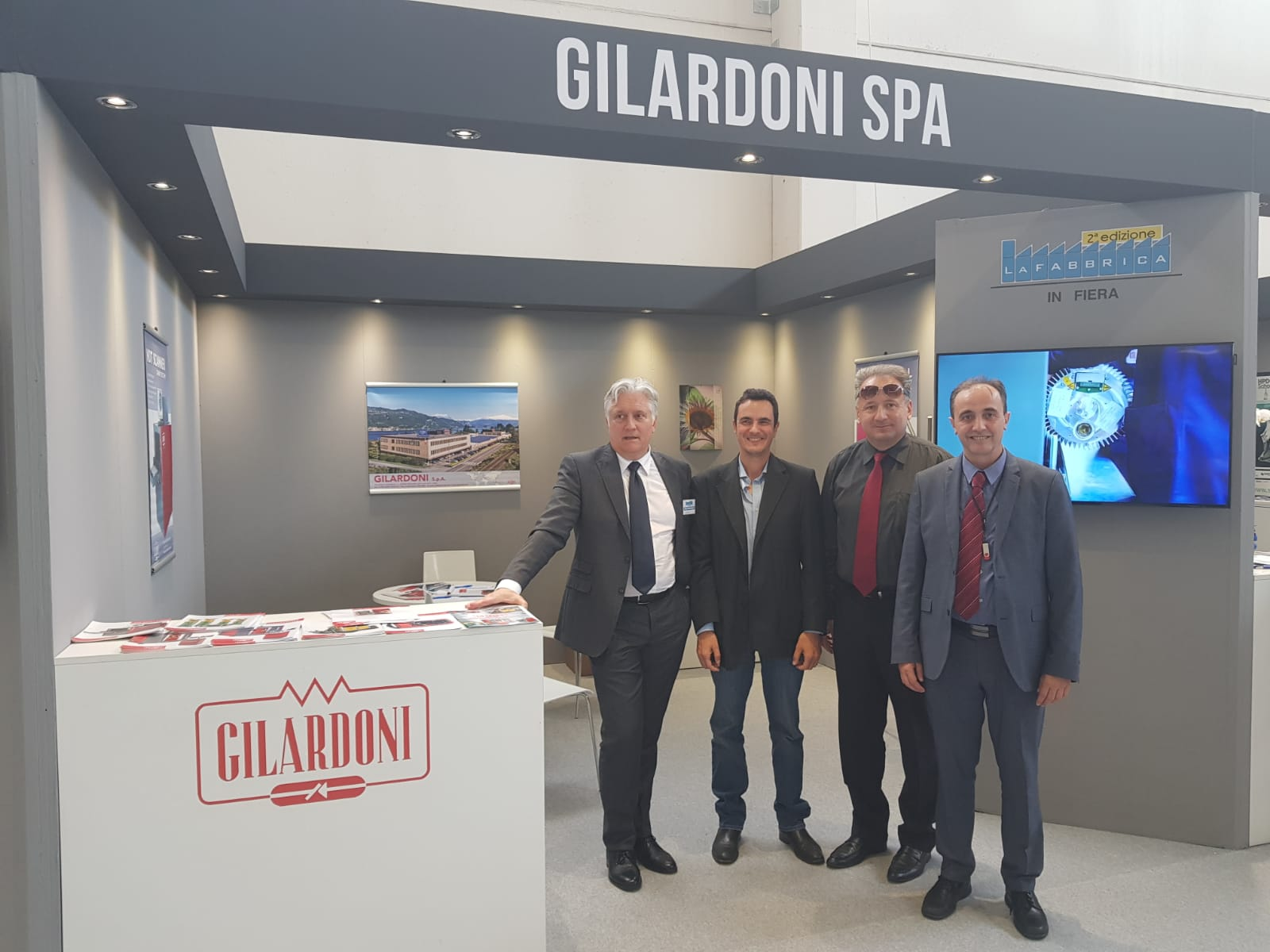 Gilardoni at Brescia Industrial Exhibition