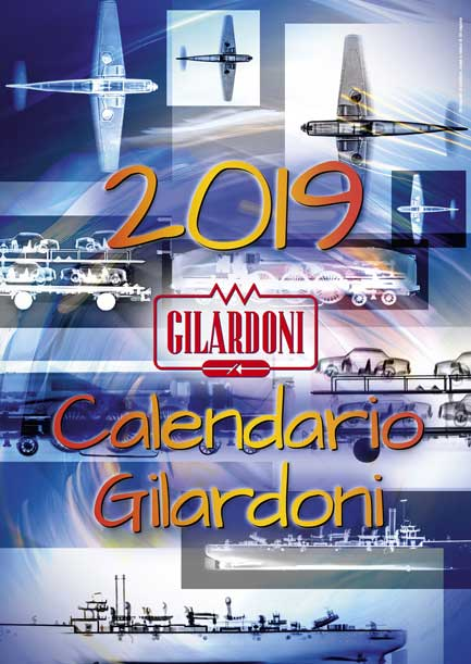 The global transportation network is the main protagonist, symbolically and beyond, for GILARDONI in 2019