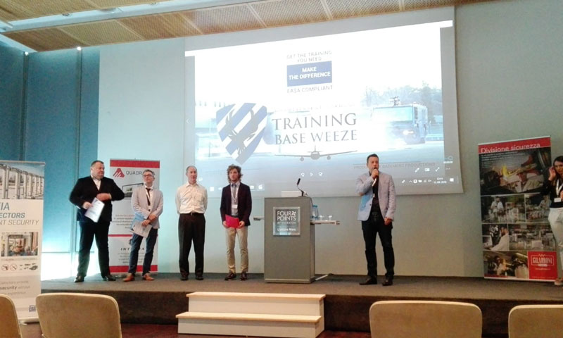 GILARDONI's new products and services for airport security presented in Ljubljana