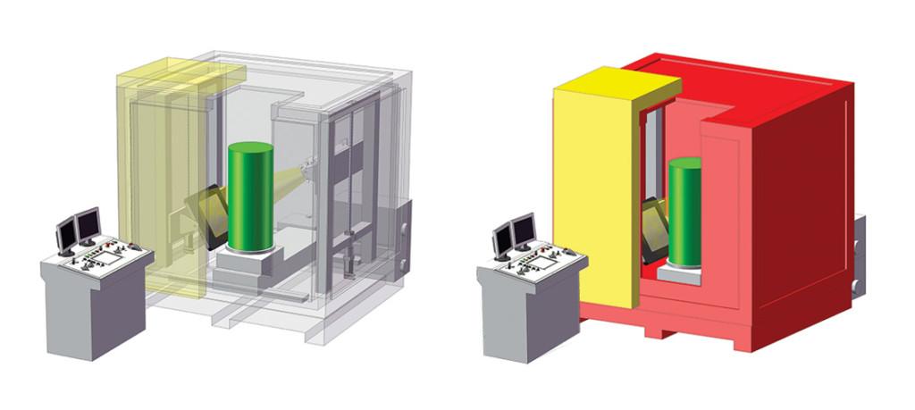Gilardoni Computed Industrial Tomography of MotivexLab - Non Destructive Testing