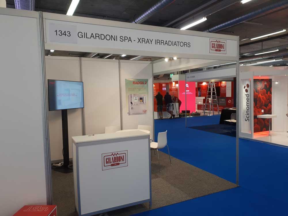 Irradiatore sangue Radgil2 Gilardoni al congresso ISBT