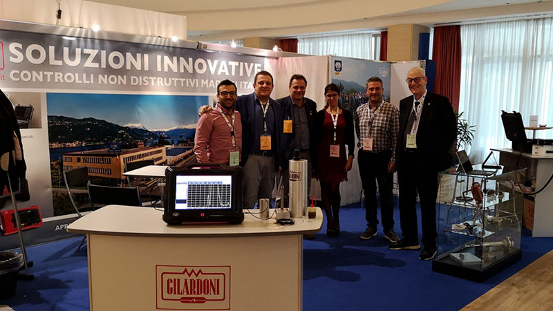 Ultrasonic instruments: Gilardoni at the Biennial AIPnD 2019