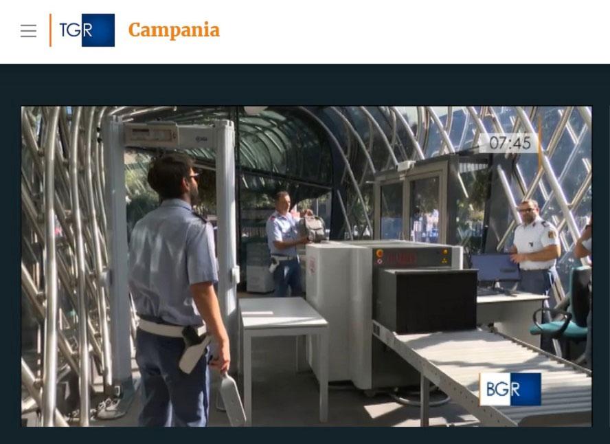 Controlli di Sicurezza al Sito Archeologico di Pompei: Gilardoni al Tg Regionale della Campagna
