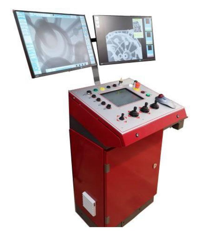Console industrial fluoroscopy cabinet Gilardoni