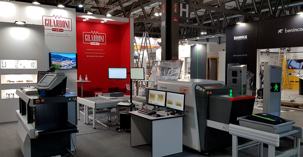 Gilardoni participates as security checks exhibitor in SAFETY 2019