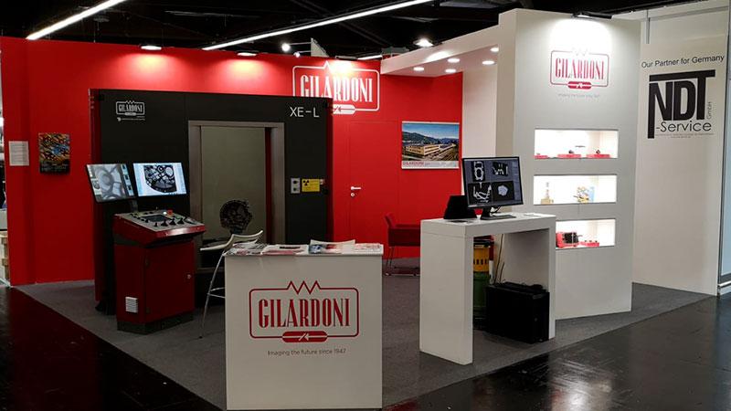 Controlli Non Distruttivi: Gilardoni a EUROGUSS 2020 con una postazione di tomografia e la cabina 7 assi XE-L con pannello da 16″
