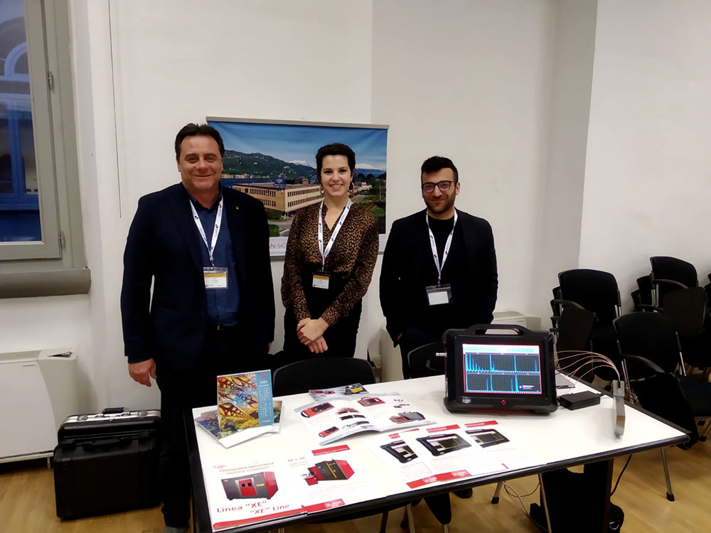 Gilardoni Staff Non destructive testing: Assocompositi Conference Milan 2020