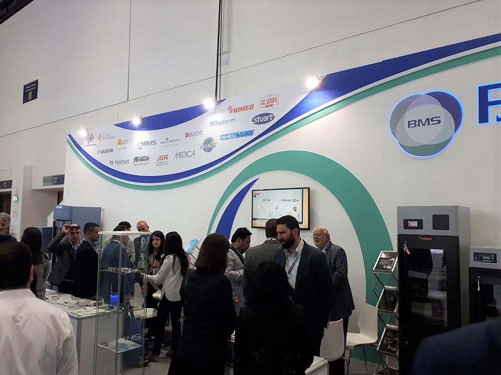 Gilardoni Raggi X present in Medlab Middle East of Dubai 2020