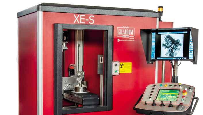 Radioscopia e Tomografia industriale: Presentazione della cabina 'XE-S', la più piccola della serie.