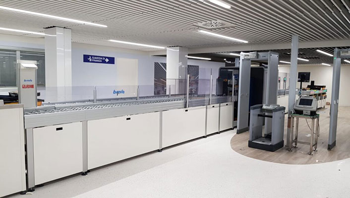 The new TRS Breva made by Gilardoni: an innovative baggages control system