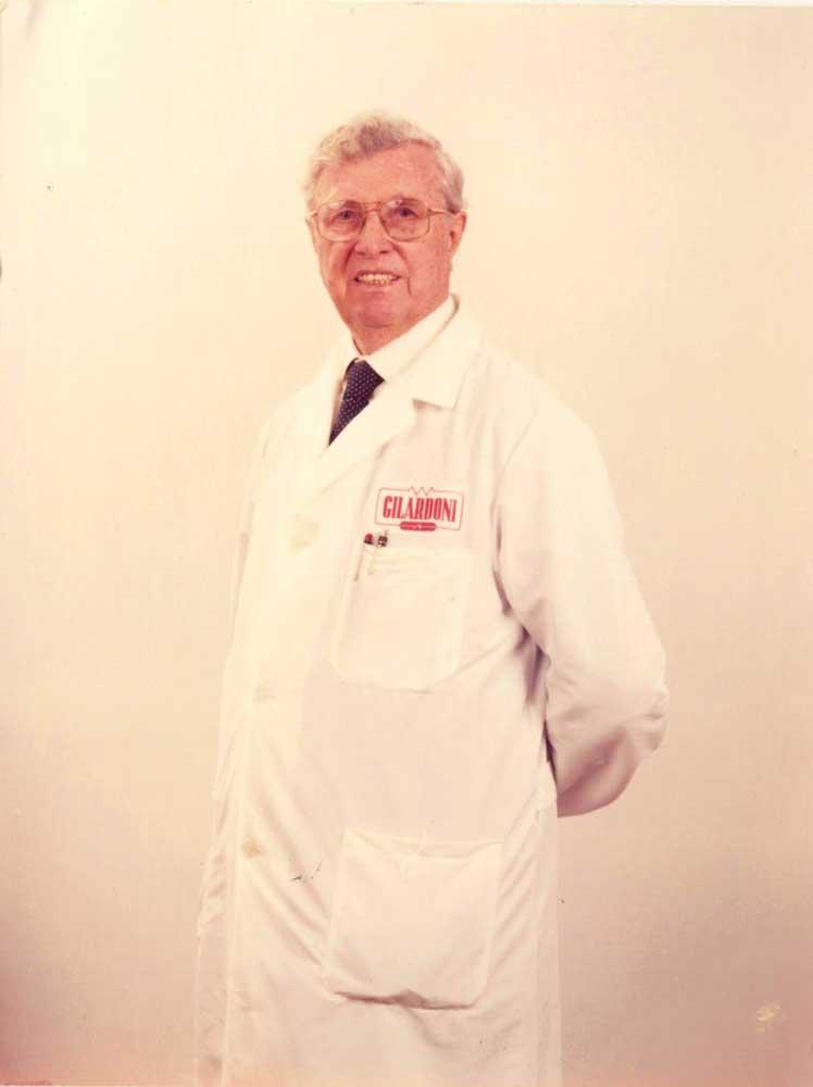Arturo Gilardoni, fondatore della Gilardoni Raggi X, Scientific Industry