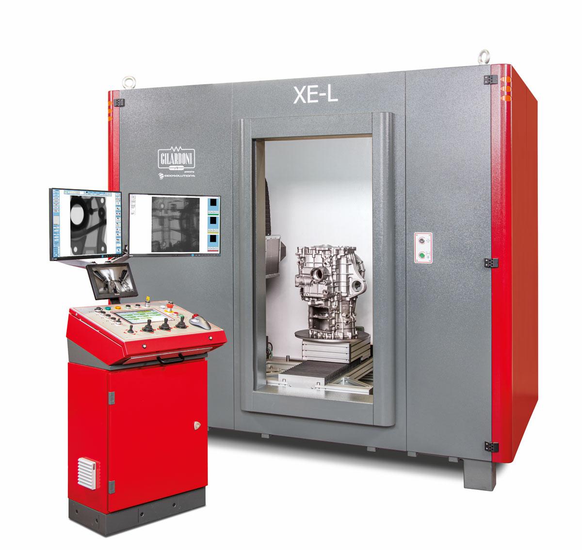 cabina XE-L partenership gilardoni LynX Inspection