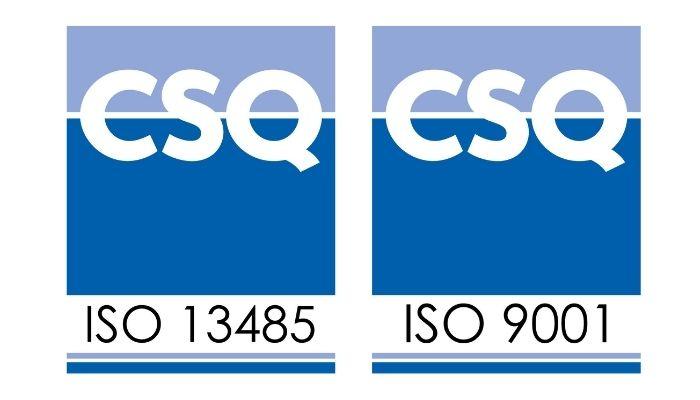 ISO 9001:2015 e ISO 13485:2016 standards